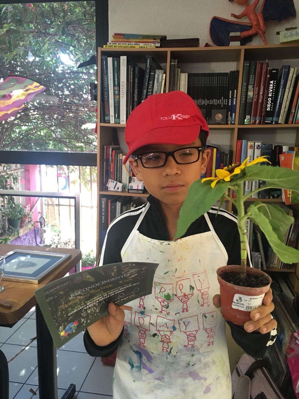 """Concurso Nacional de Dibujo Infantil 2017,"""" Vamos a Pintar un Árbol""""."""