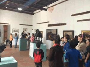 Animales en el Arte, Noviembre 2015, Museo Hacienda Santa Mónica.