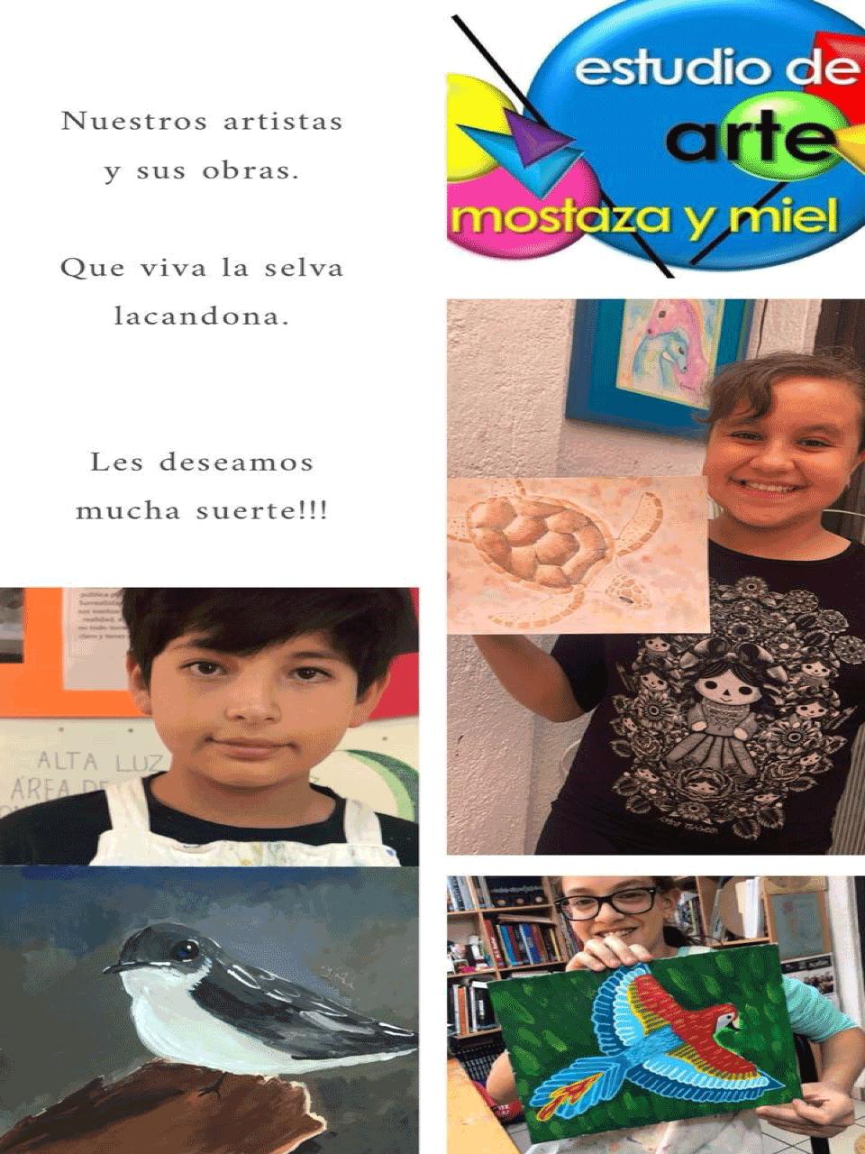 """Concurso """"Que viva la selva Lacandona"""" 2018."""