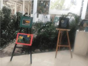 Exposición Poemas sin palabras, Abril 2016, Ágora Parque Naucalli.